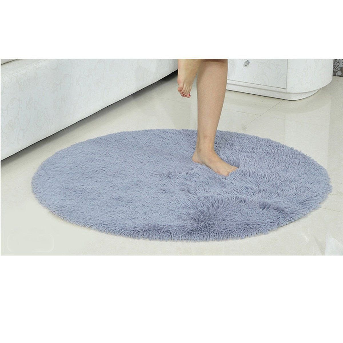 Fluffy Carpet for Bedroom Fresh Round Fluffy Rugs Anti Skid Shaggy area Rug Room Home