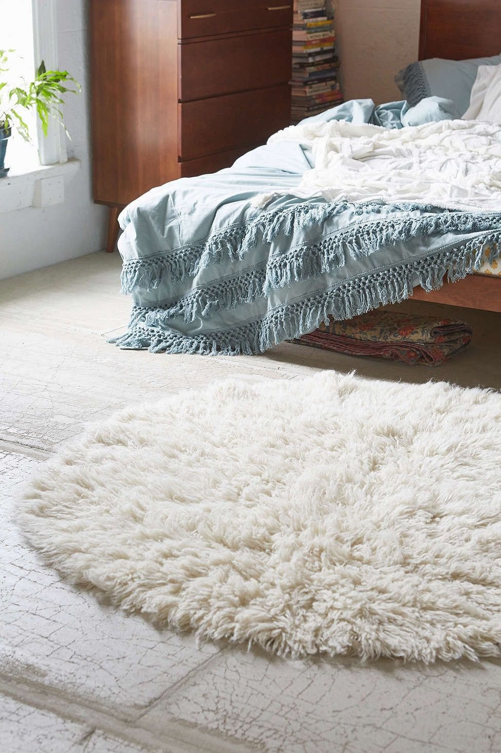 Fluffy Carpet for Bedroom Luxury Classic Rug Pad