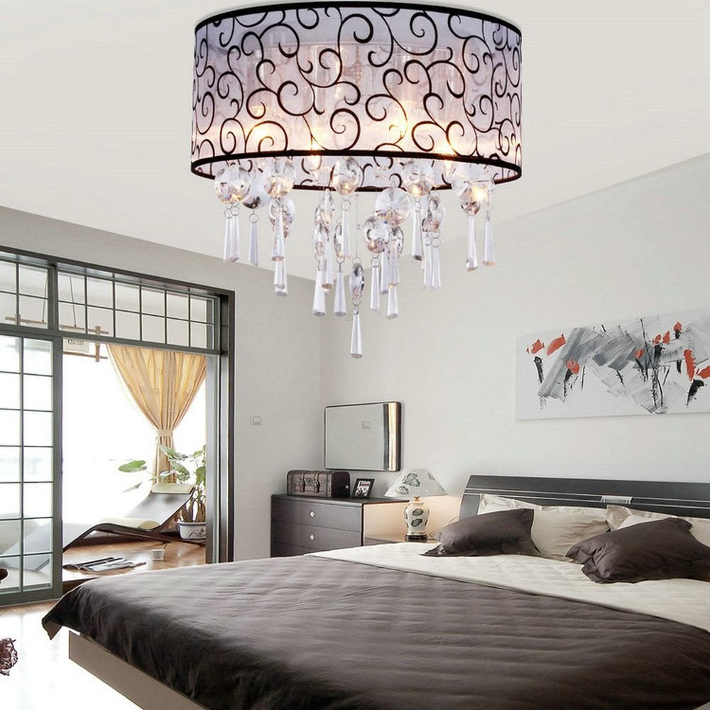 Flush Mount Bedroom Ceiling Light Best Of Cheap Bedroom Lighting Fixtures Buy Quality Crystal Ceiling