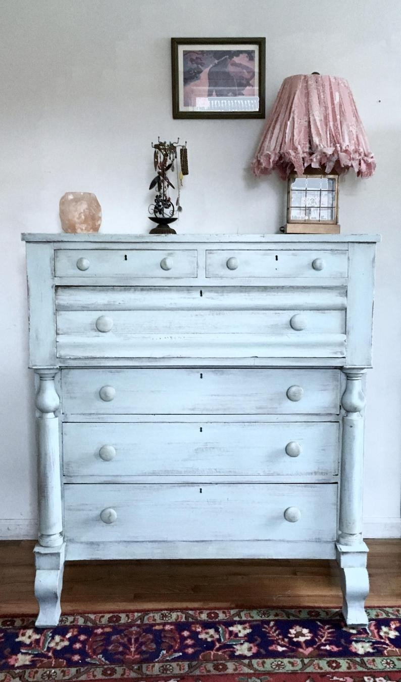 French Provincial Bedroom Furniture New sold Shabby Chic Dresser Antique Dresser Rustic Chest Of Drawers Distressed Dresser Empire Dresser Country Cottage Dresser Free Nyc De