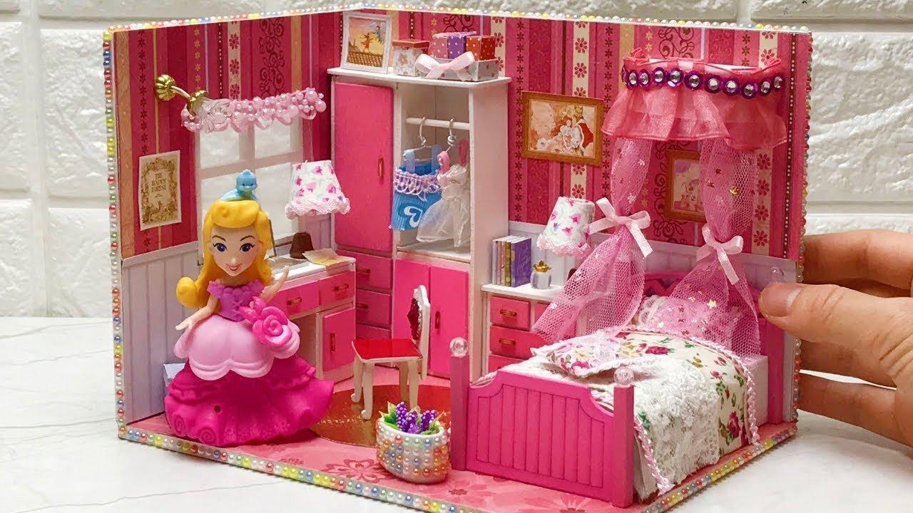 Frozen themed Bedroom Ideas Best Of Diy Pink Dollhouse Bedroom