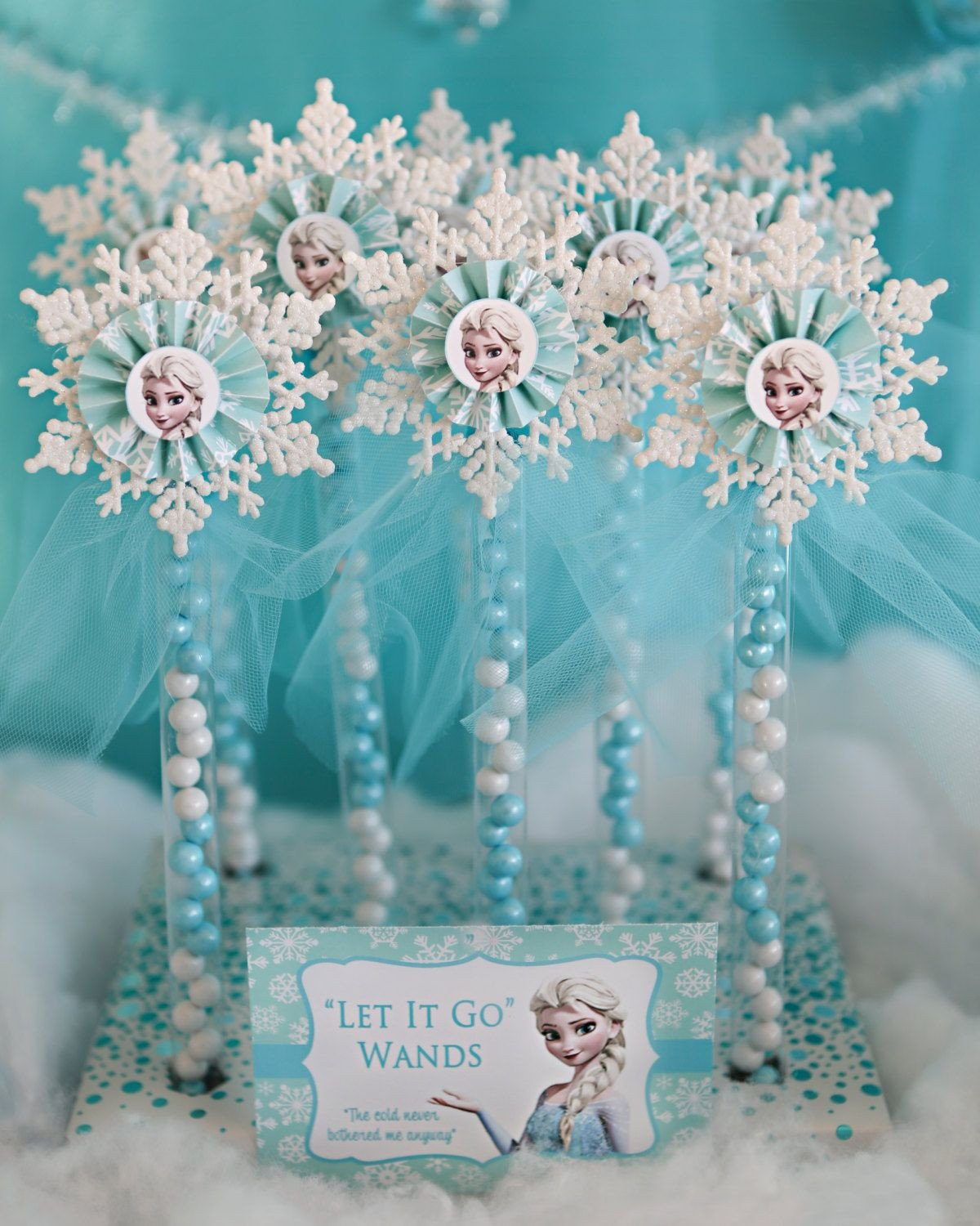 Frozen themed Bedroom Ideas Elegant 12 Elsa Party Favor Candy Wands by Keepsmilingproject On