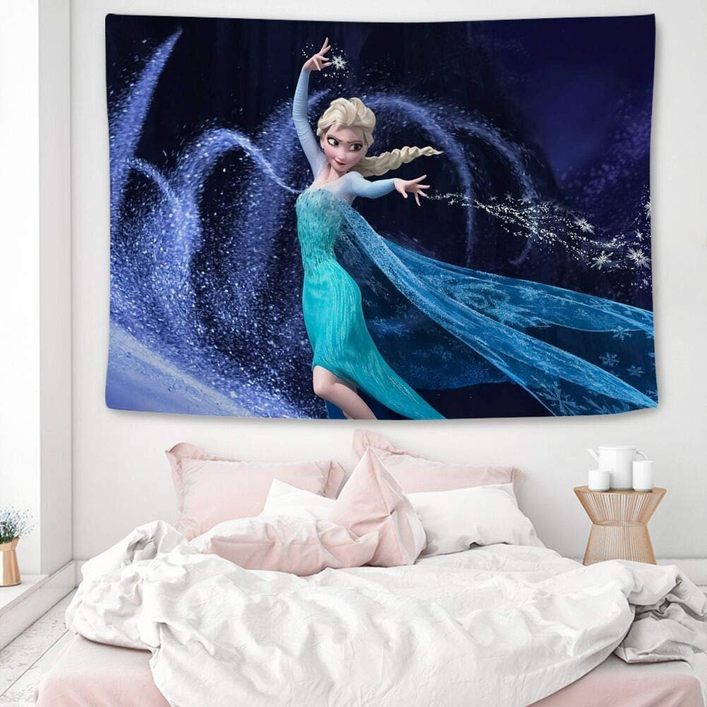 Frozen themed Bedroom Ideas Fresh Amazon Disney Collection Tapestry Cute Frozen Wallpaper
