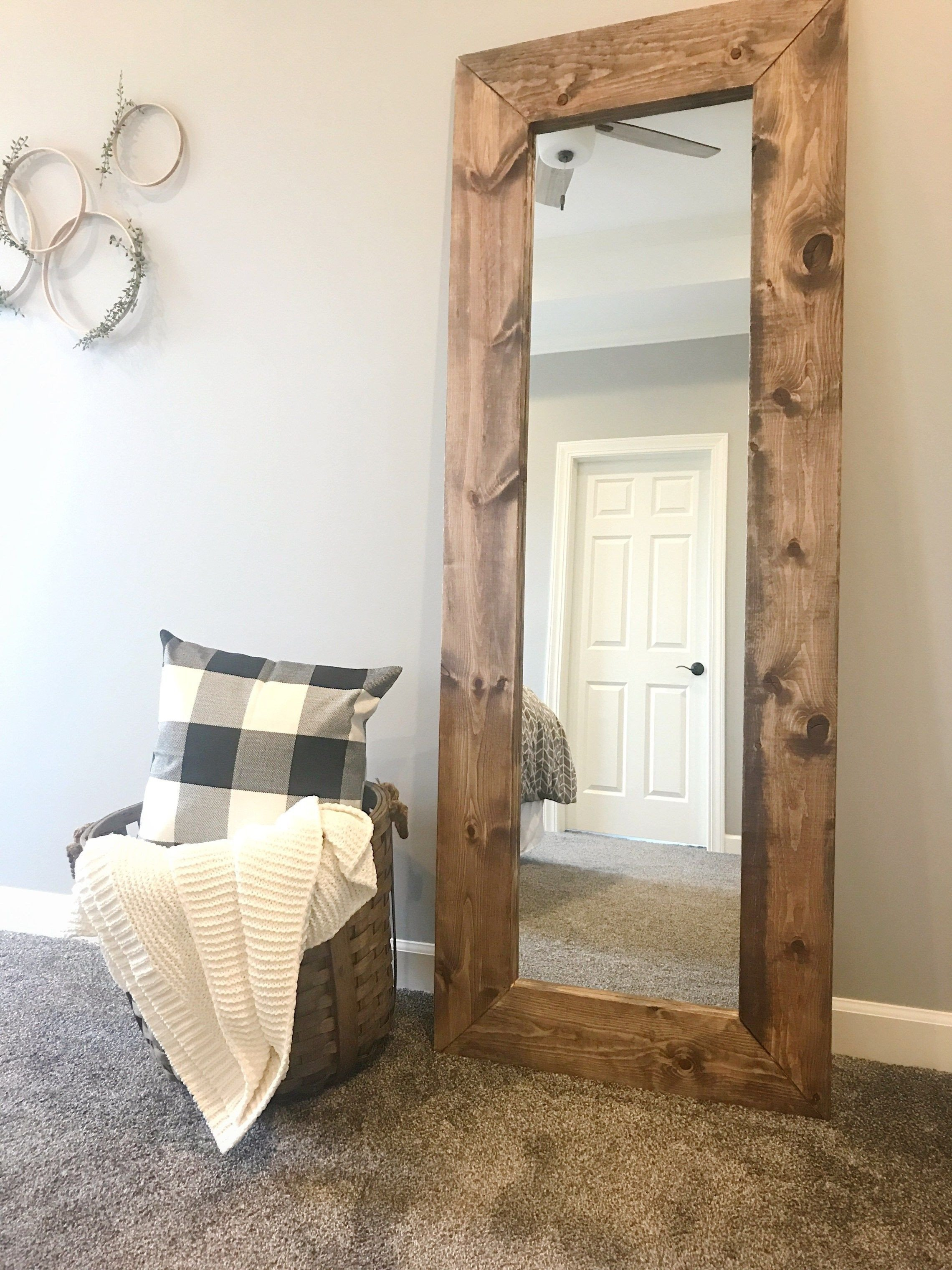 Full Length Bedroom Mirror Lovely How to Build A Diy Wood Mirror Frame
