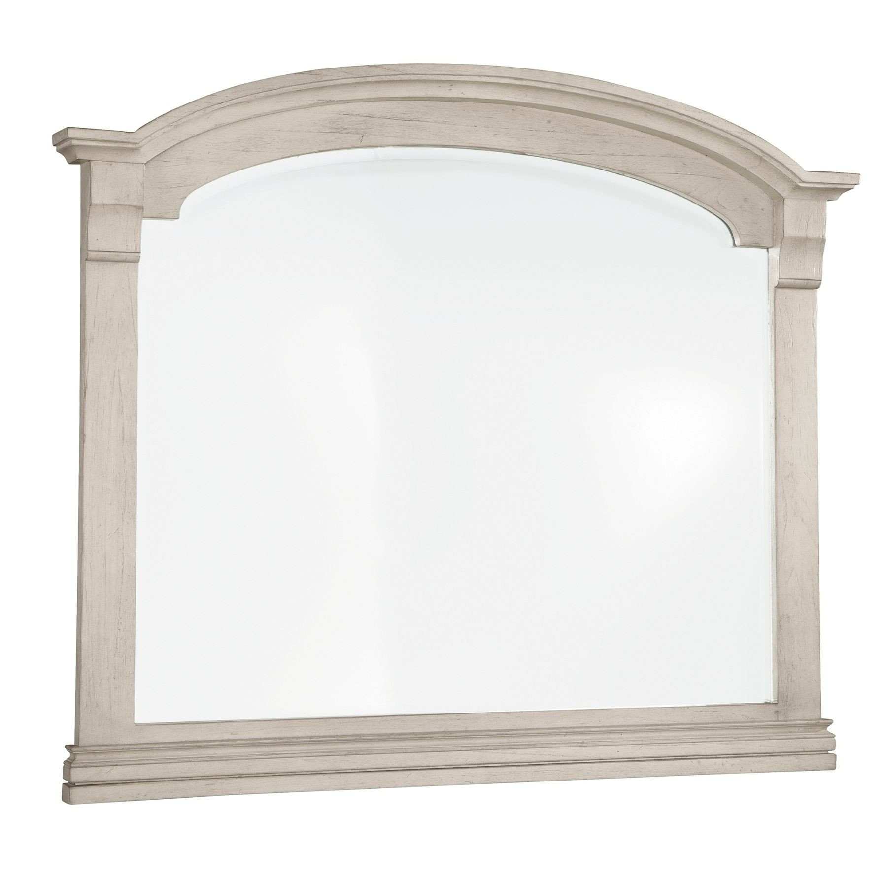 Full Length Bedroom Mirror Luxury Hekman Furniture Homestead Distressed Antique White Arched