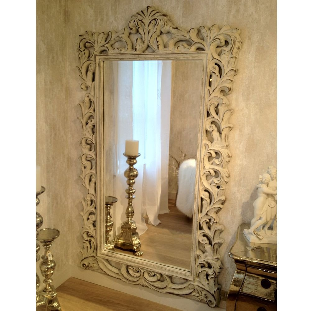 Full Length Bedroom Mirror Unique This Stunning French Mirror Has Swirling Carved Acanthus