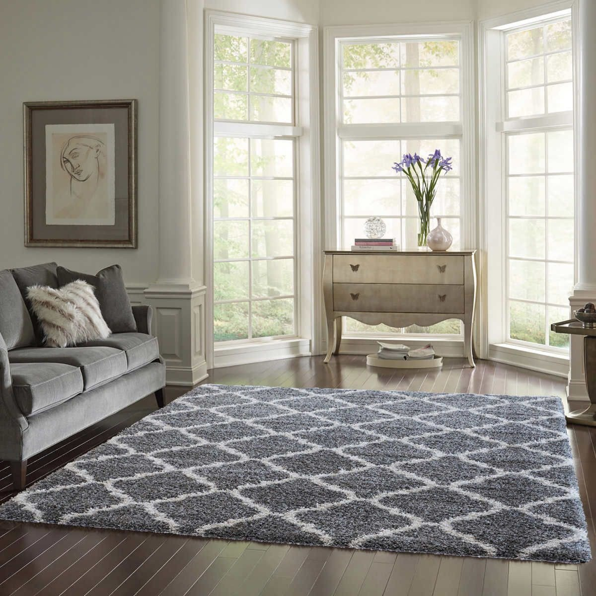 Furry Rugs for Bedroom New Thomasville Marketplace Luxury Trellis Shag Rugs