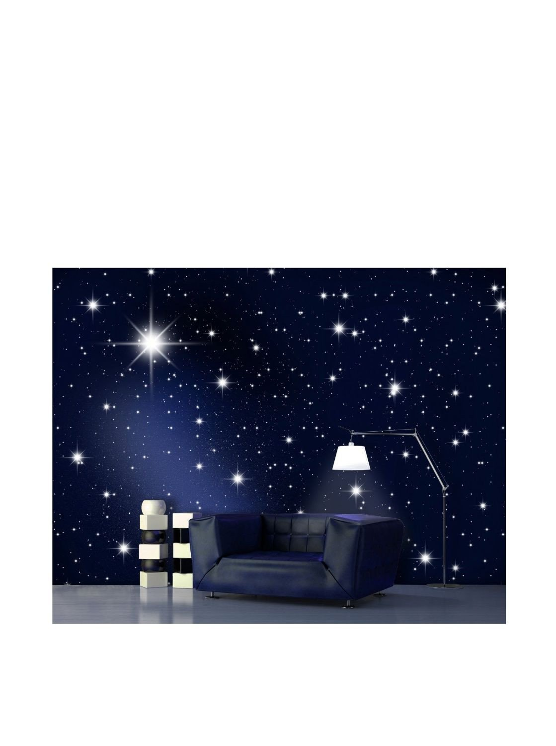 "Galaxy Wallpaper for Bedroom Beautiful Wtd Wall Mural No 119 ""stars"" 400x280 Cm Wallpaper"