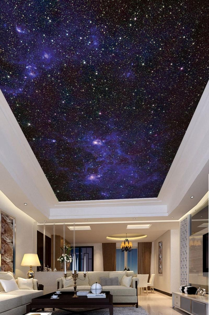 Galaxy Wallpaper for Bedroom Inspirational Custom 3d Wallpaper for Living Room Ceiling Beautiful Starry Ceiling Painting Background Wall Backgrounds Wallpaper Widescreen Desktop Wallpaper