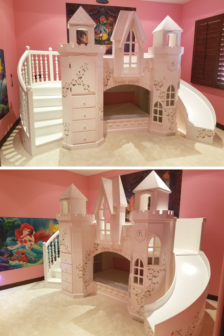 Girl Princess Bedroom Set Fresh Castle Vicari Bunk Bed