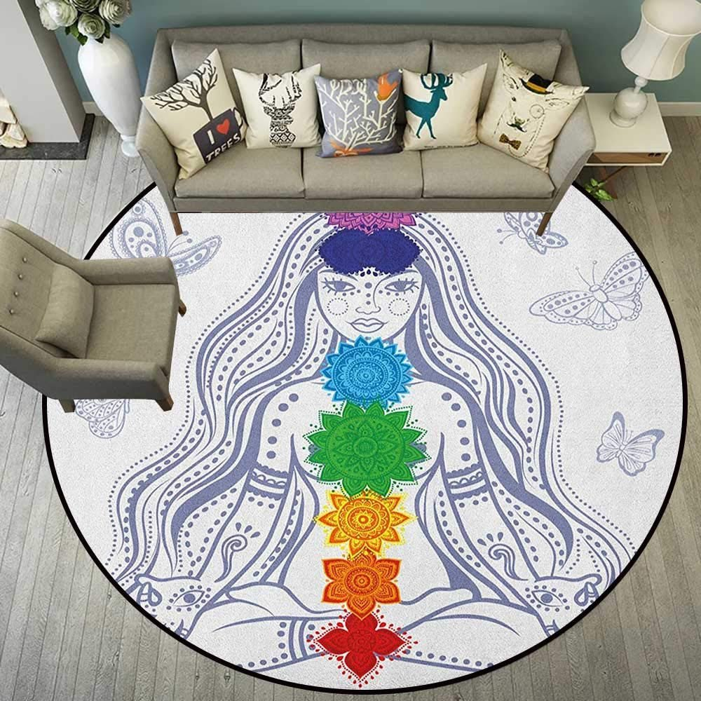 Girls Bedroom area Rugs Fresh Amazon Chakra,rugs for Living Room Spiritual Girl In