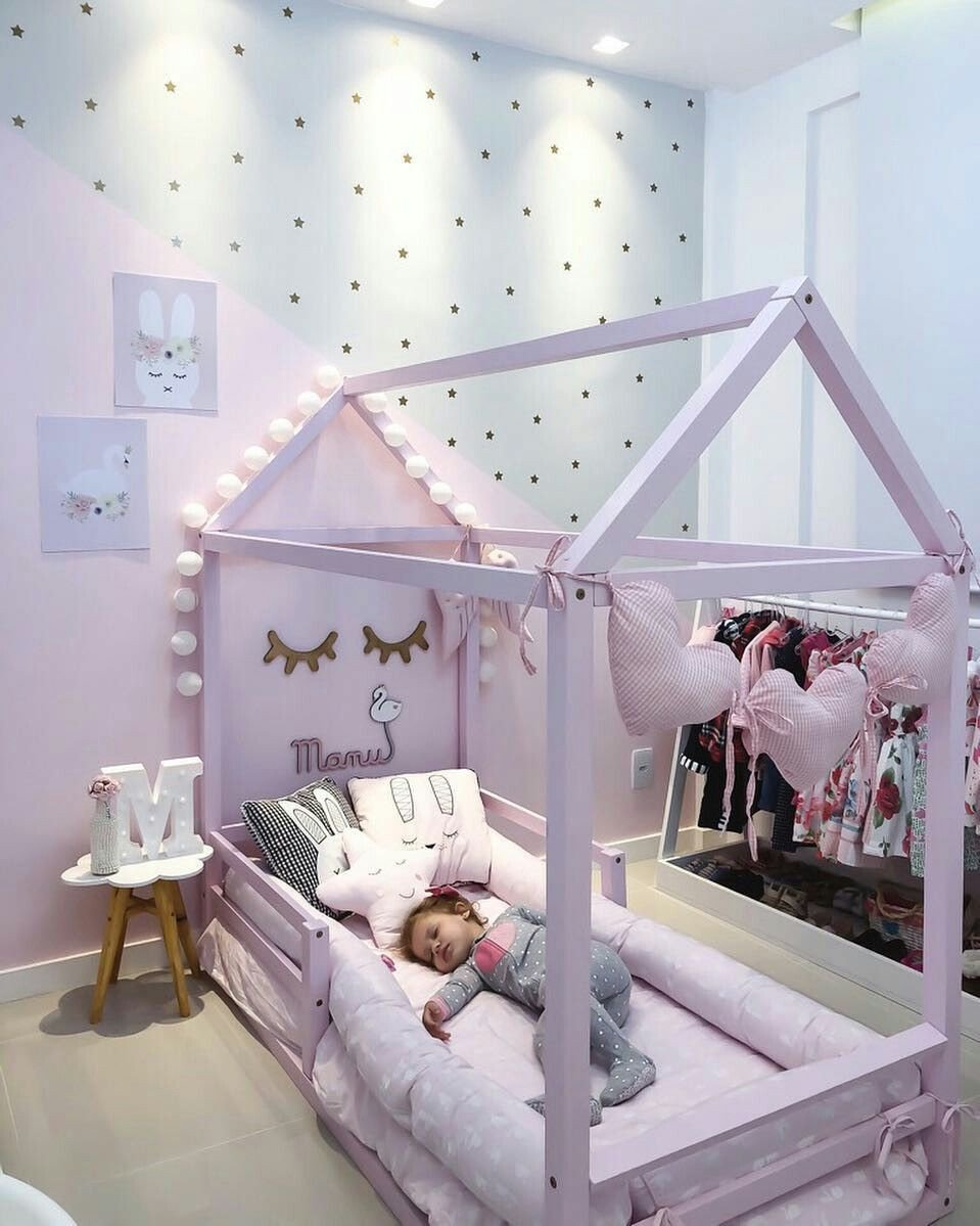 Girls toddler Bedroom Set Lovely Wall Only In 2020