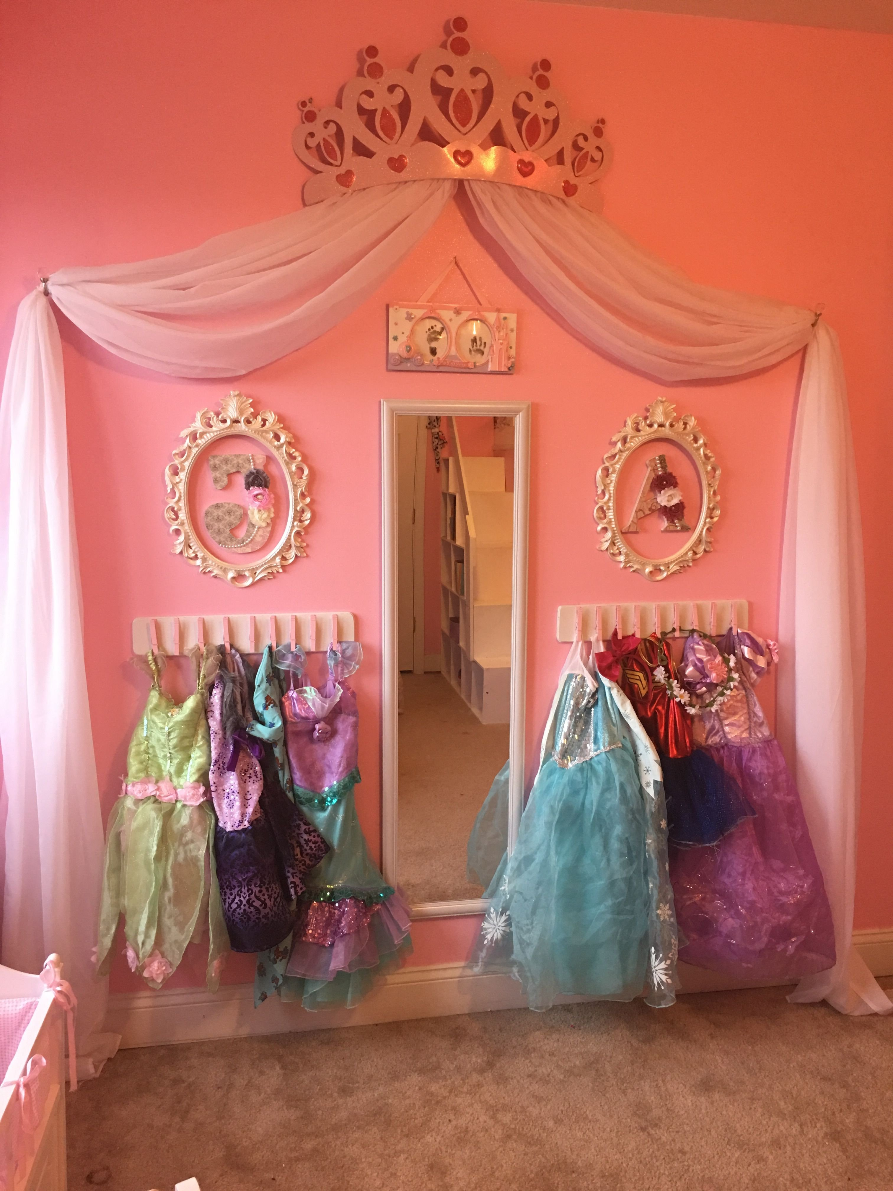 Girls toddler Bedroom Set New Princess Dress Up Storage Diy Cheap and Super Easy Frees