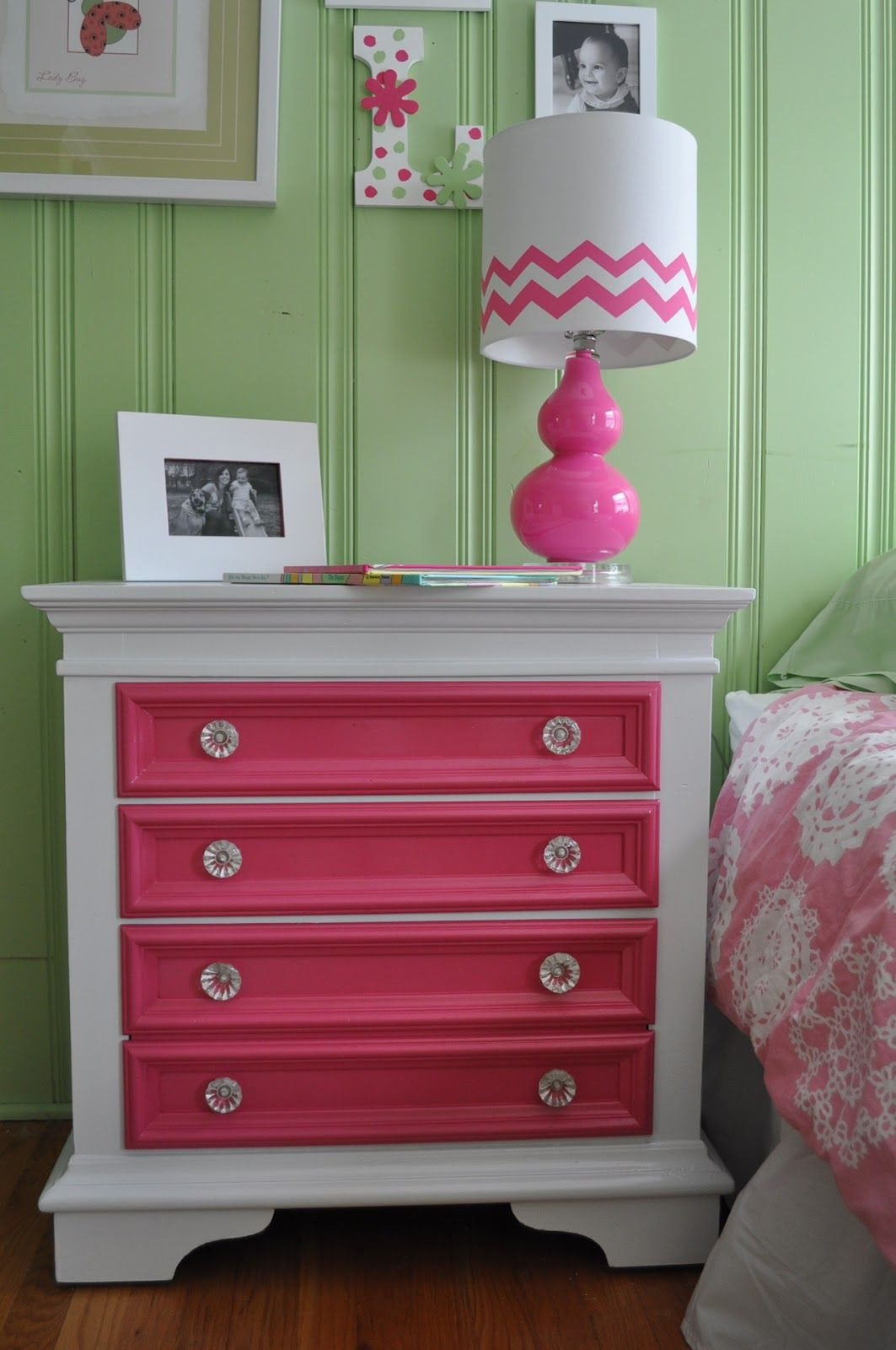 Girls White Bedroom Set Awesome Take A Simple Dresser and Add Bright Colors to Just the