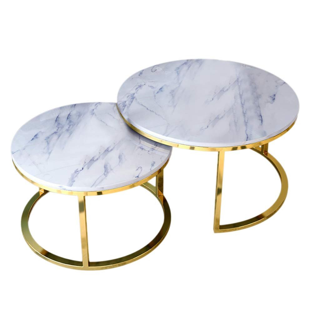 Glass Side Tables for Bedroom Fresh Amazon Modern Coffee Table Set Of 2 Thicken Marble top