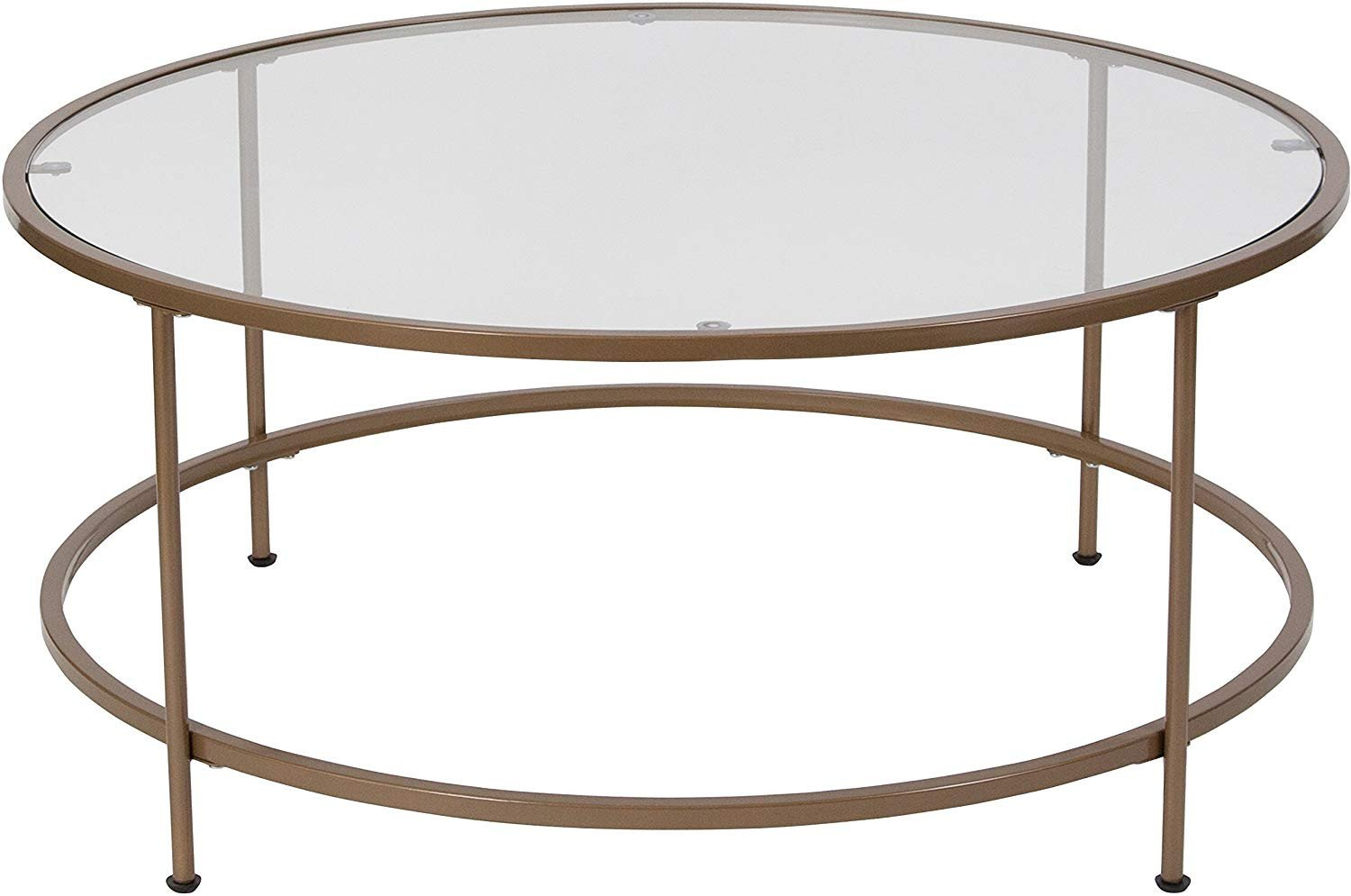 Glass Side Tables for Bedroom Lovely Flash Furniture astoria Collection Glass Coffee Table with Matte Gold Frame Nan Jn Ct Gg