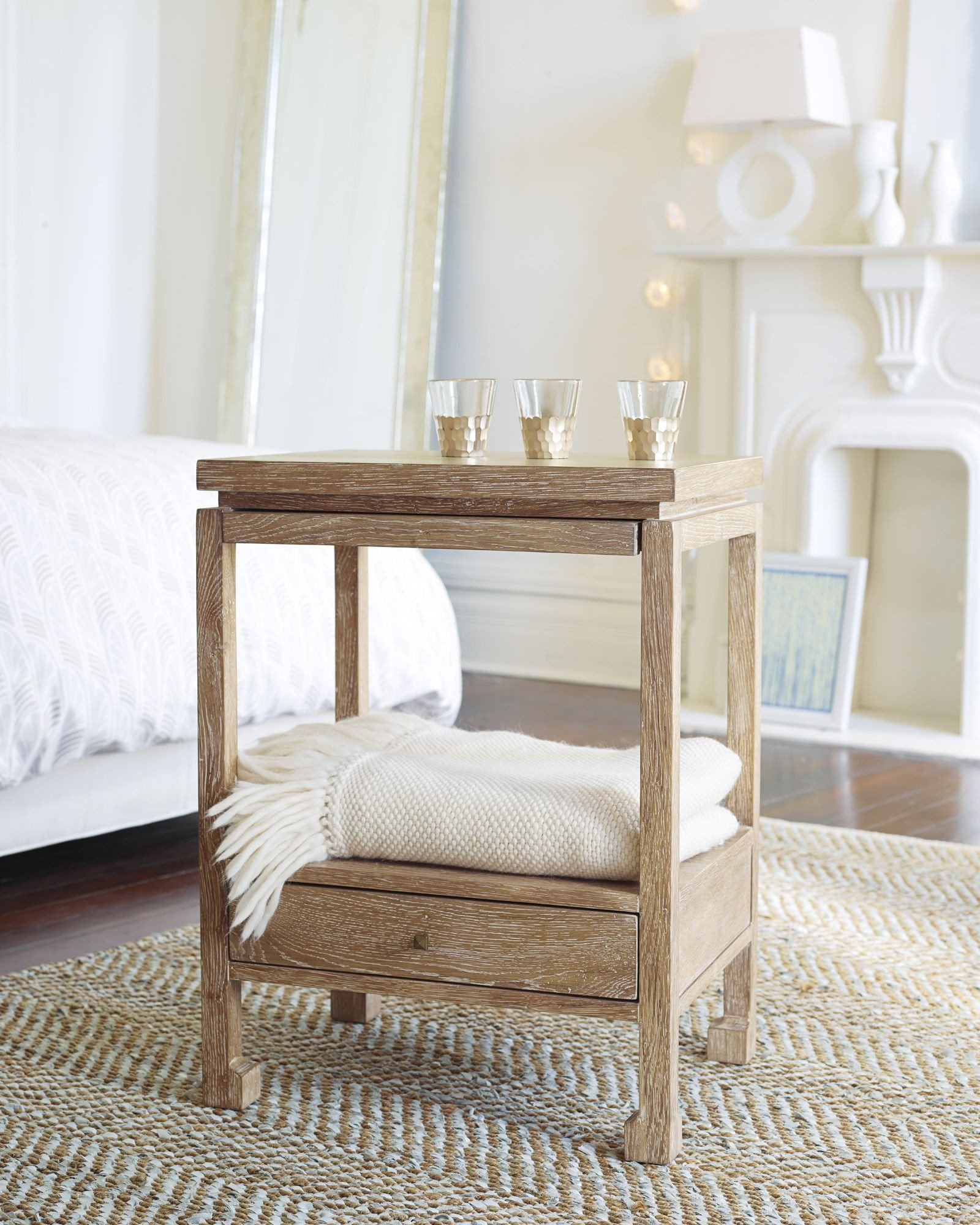 Glass Side Tables for Bedroom Unique Reese Nightstand Tb Acc53 02