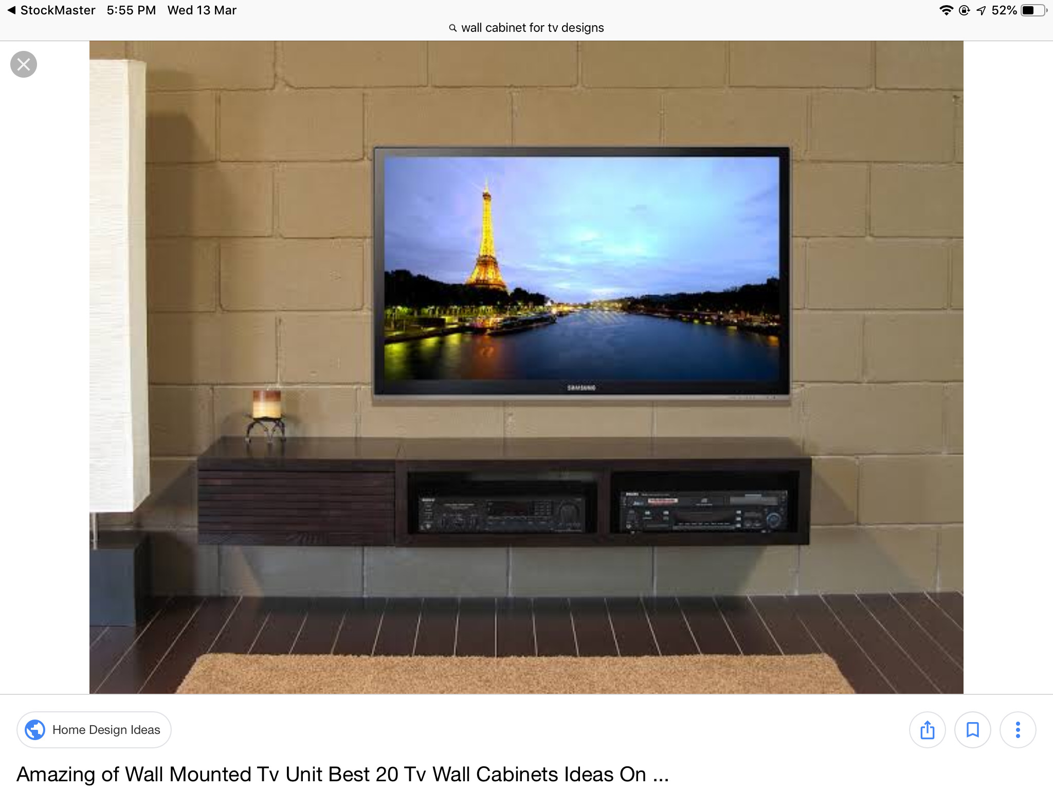 Good Size Tv for Bedroom New Pin by Naeem On Wall Cabinet