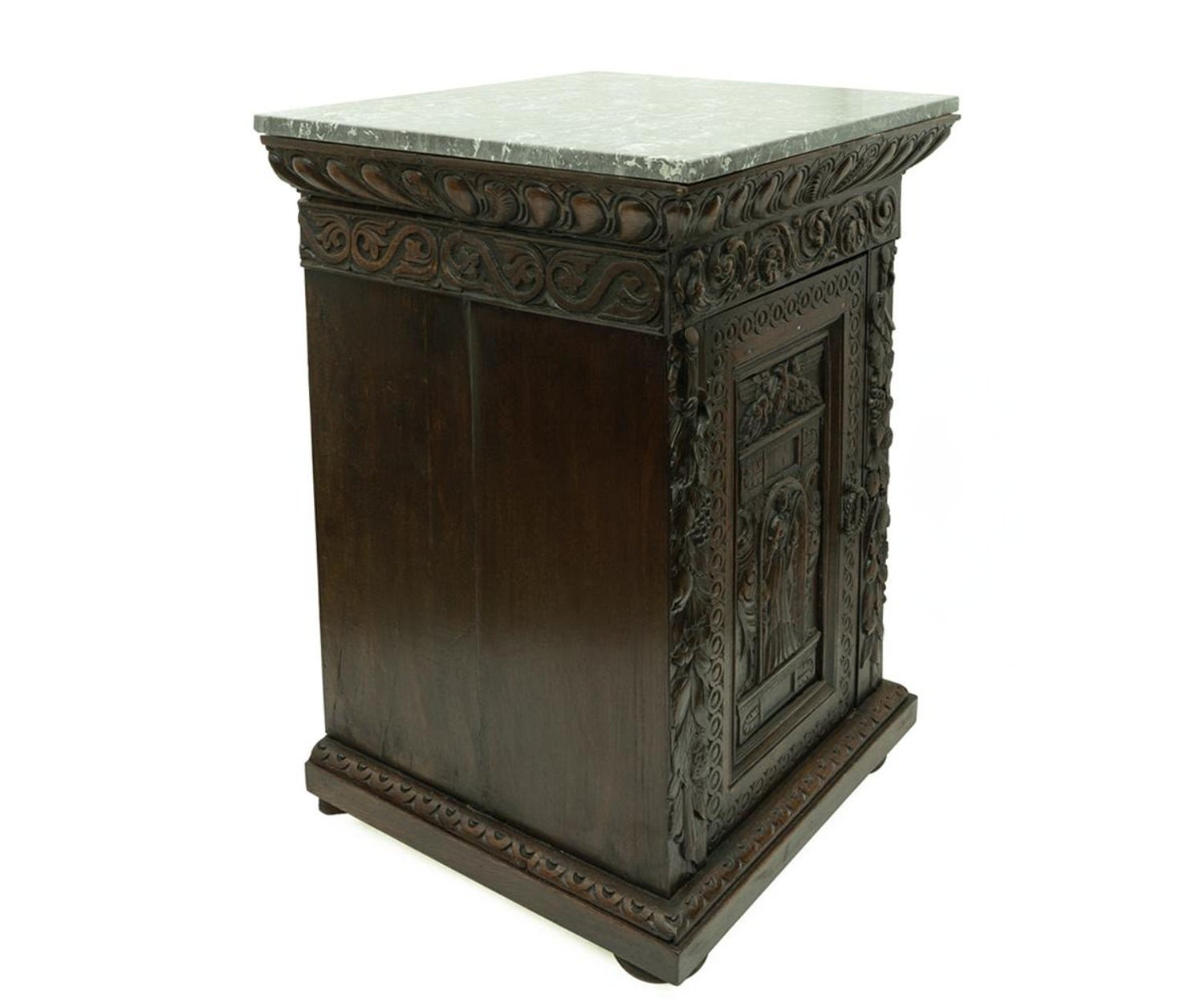 Gothic Bedroom Furniture for Sale Beautiful Pair Of Antique Hand Carved Oak Night Stands at 1stdibs