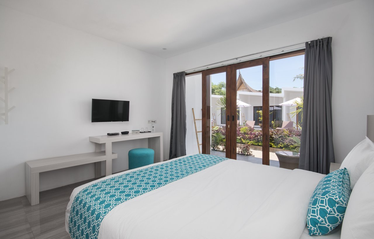 Gray and Aqua Bedroom Unique Jago Gili Air $54 $̶6̶7̶ Updated 2020 Prices & Hotel