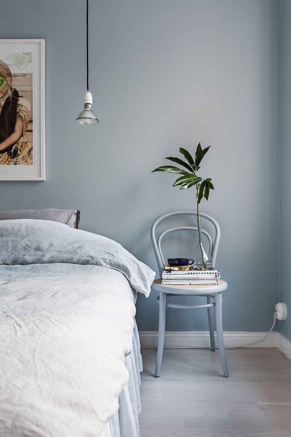 Gray and Aqua Bedroom Unique This Designer Trick Will Make Any Small Space Look R