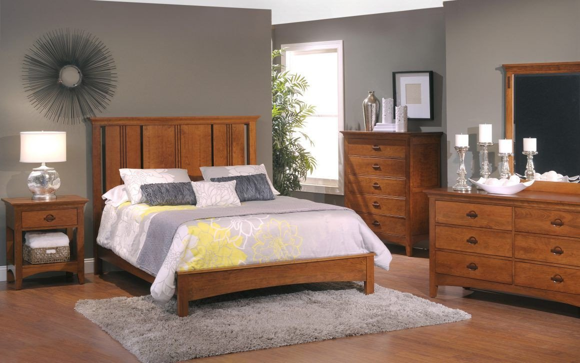 Gray and Brown Bedroom New Master Bedroom Colors with Light Wood Furniture Bedroom