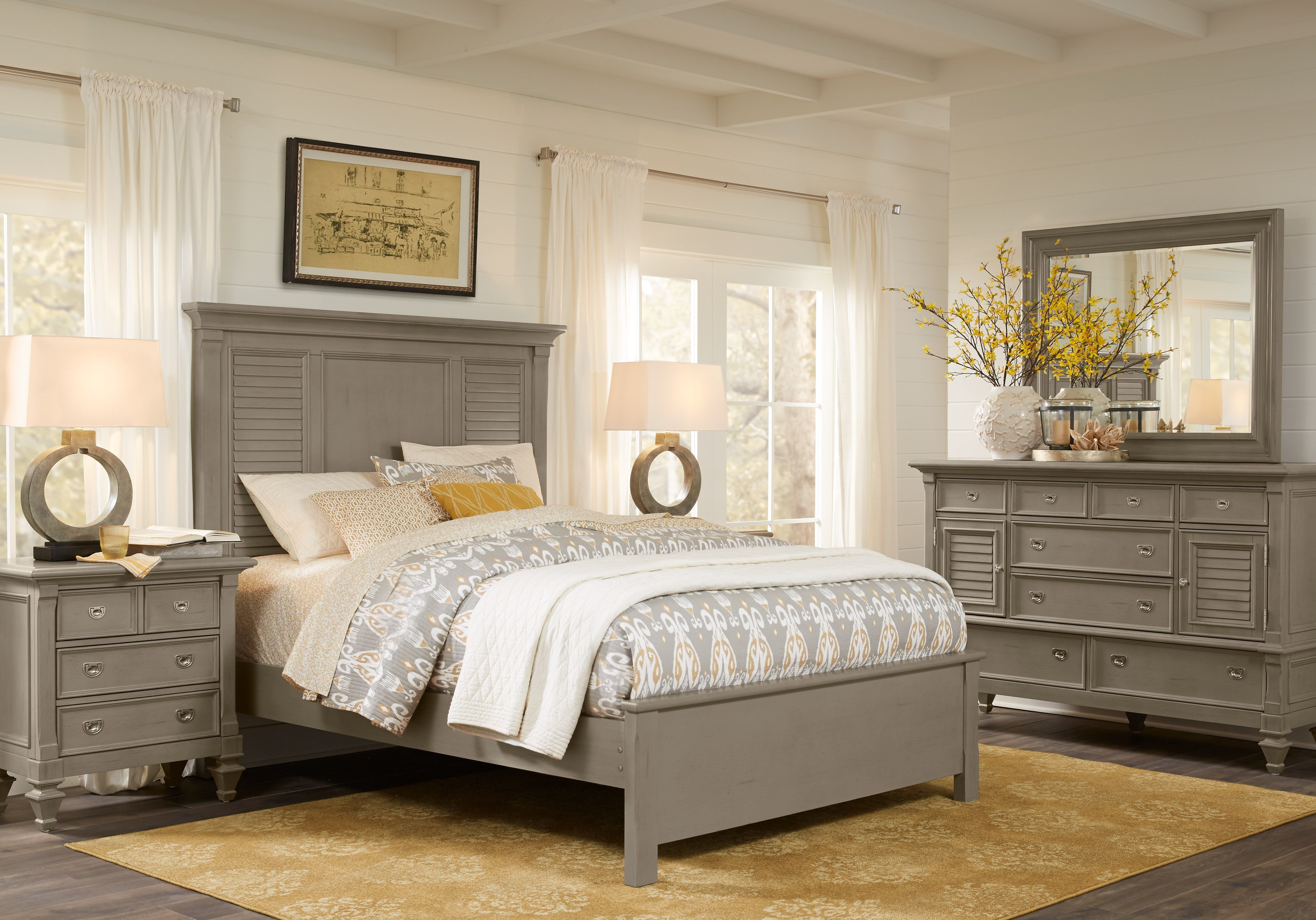 Gray King Bedroom Set Awesome Belmar Gray 5 Pc King Bedroom Decor In 2019
