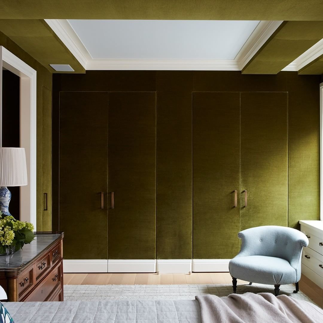 Green and Brown Bedroom Lovely A Luxurious Master Bedroom and Closet Design Enveloped In A