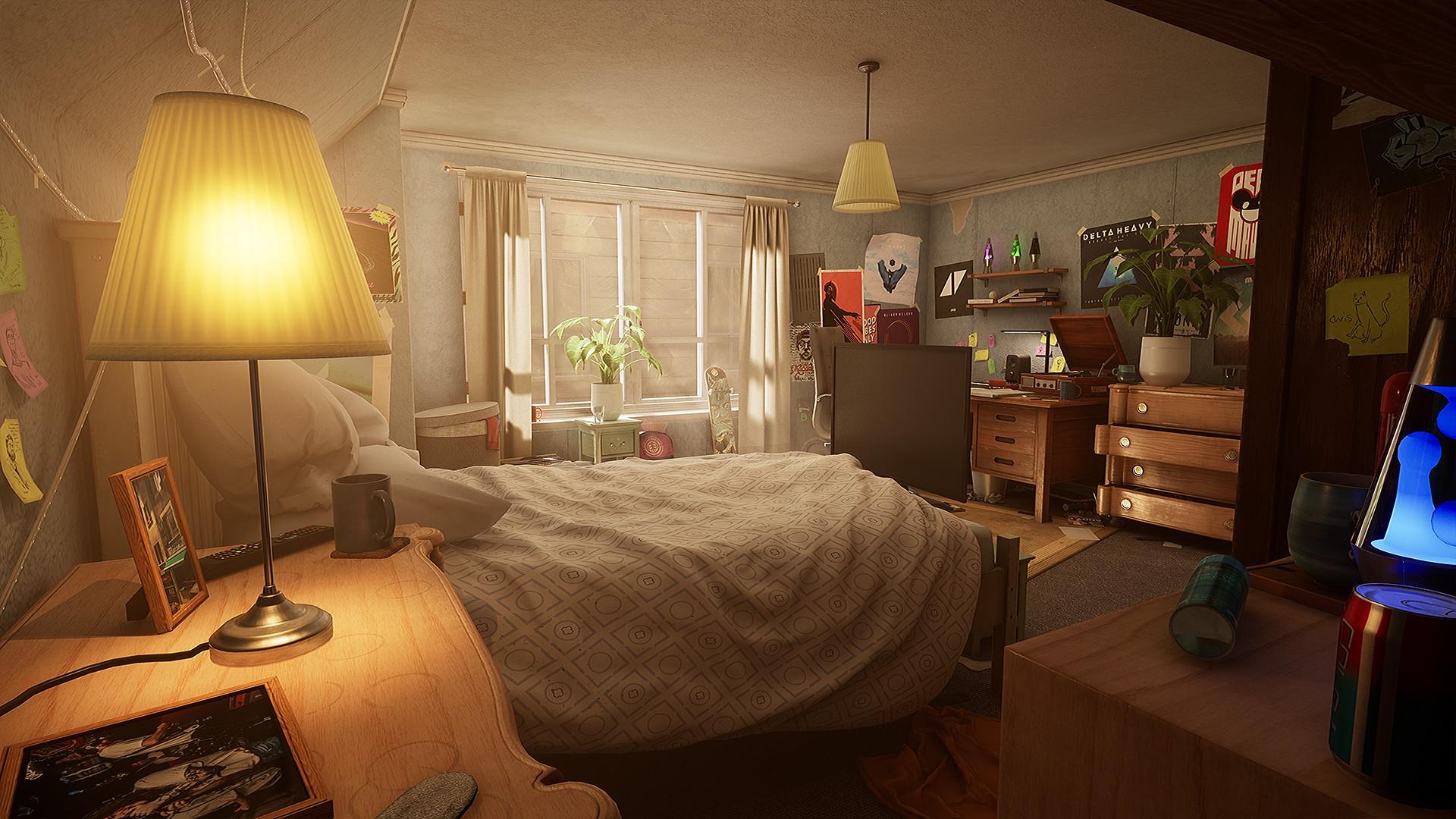 Green and Brown Bedroom Luxury Wip] [ue4] Teenagers Bedroom — Polycount