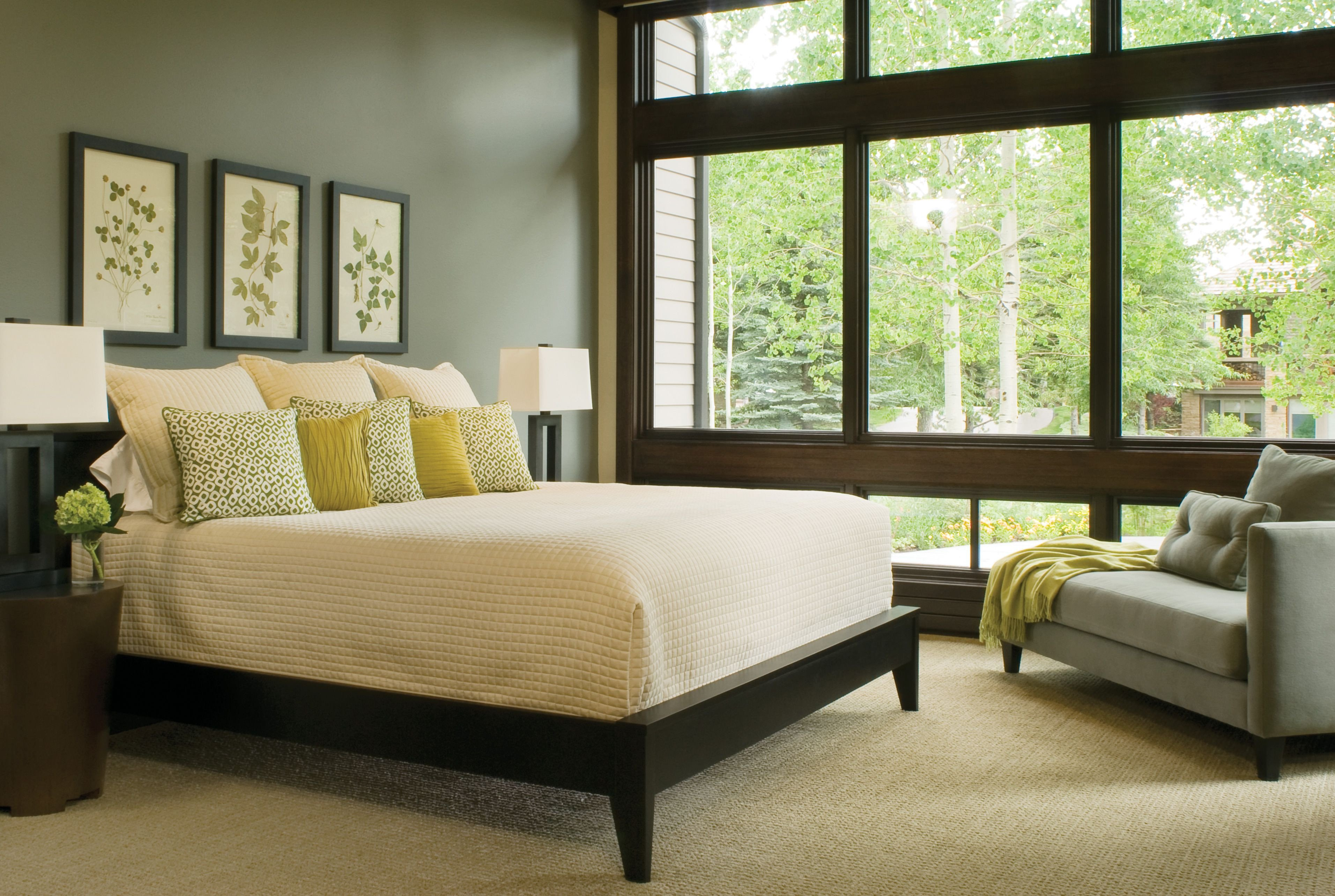 Green and Brown Bedroom New Pleasant Bedroom Nuance In Neutral Paint Color Idea with
