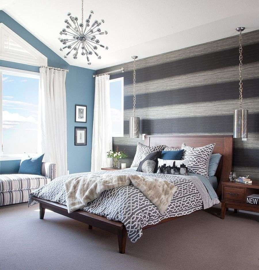 Grey and Red Bedroom Awesome 25 Stunning Grey Hardwood Floors Grey Walls