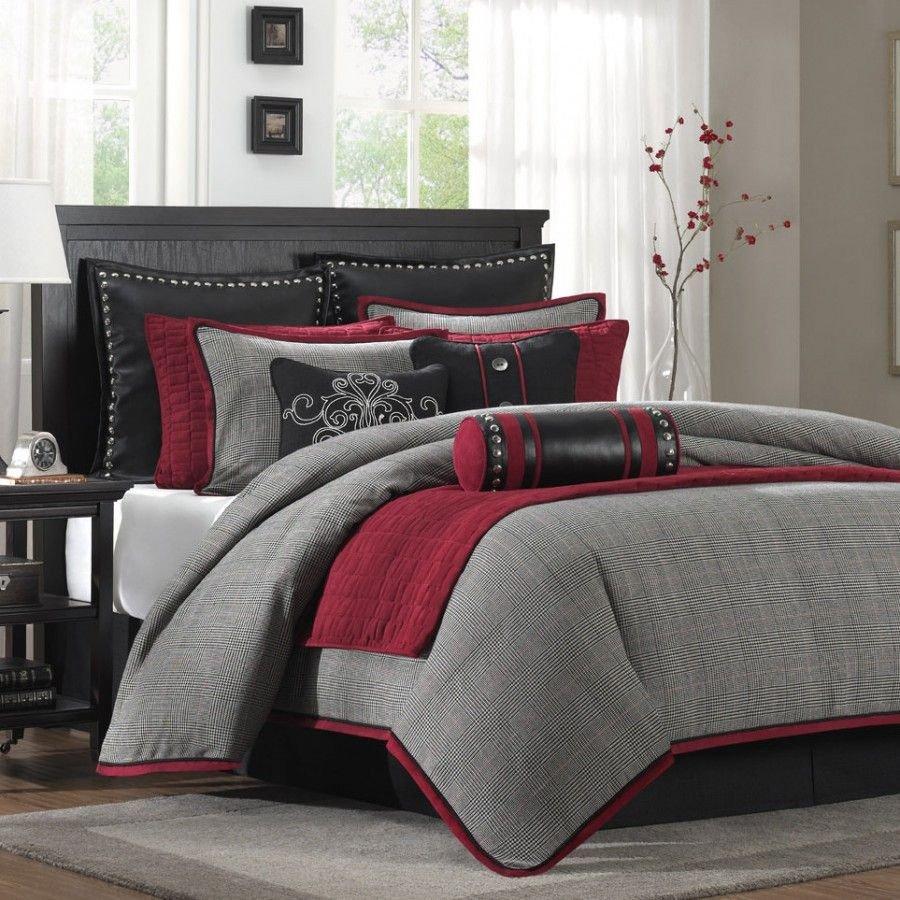 Grey and Red Bedroom Inspirational Hampton Hill Cambridge forter Set Jla10 153 Jla10 154