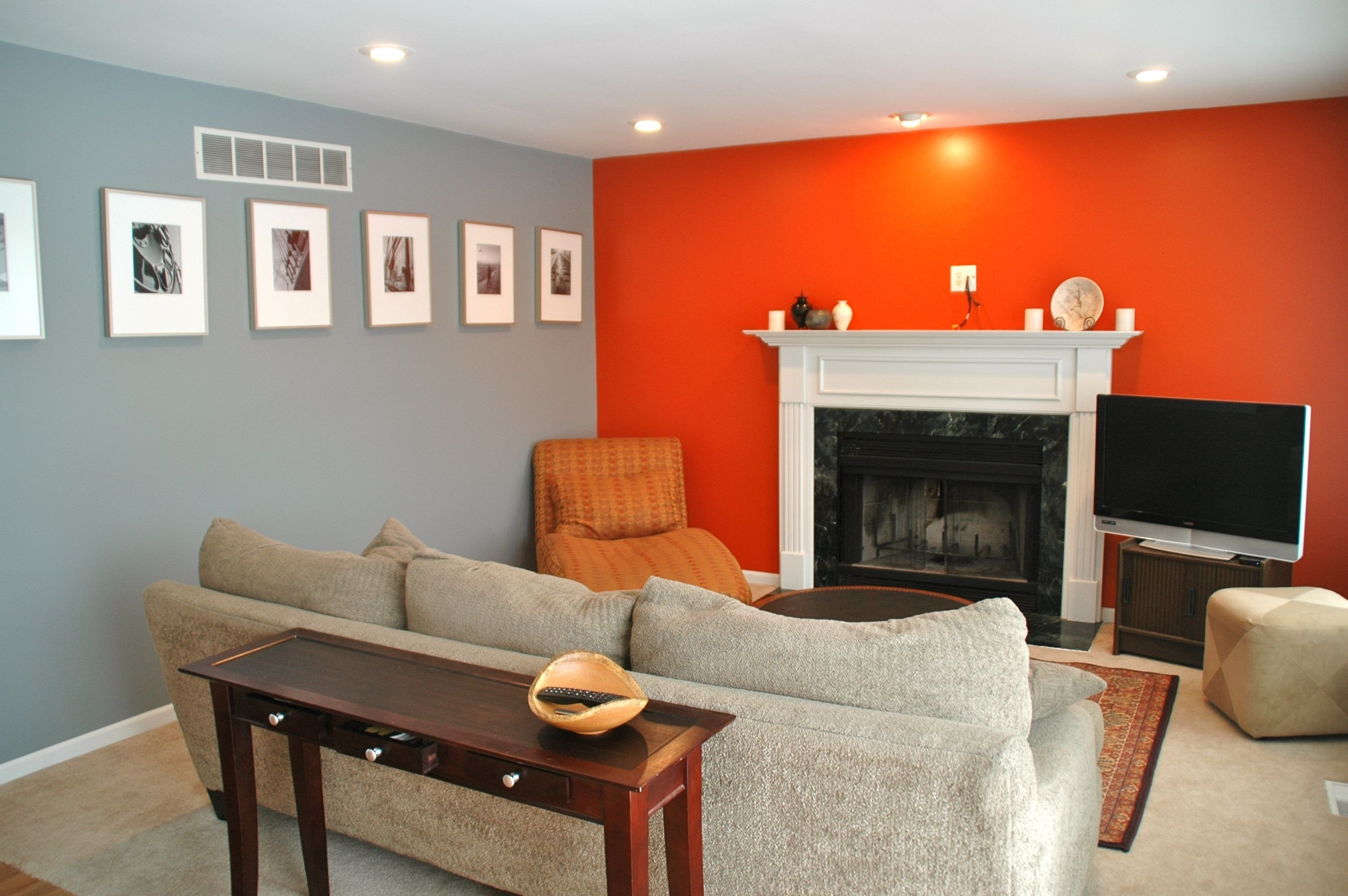 Grey and Red Bedroom Lovely Bedroom with orange and Grey Wall Color Bination Bedroom
