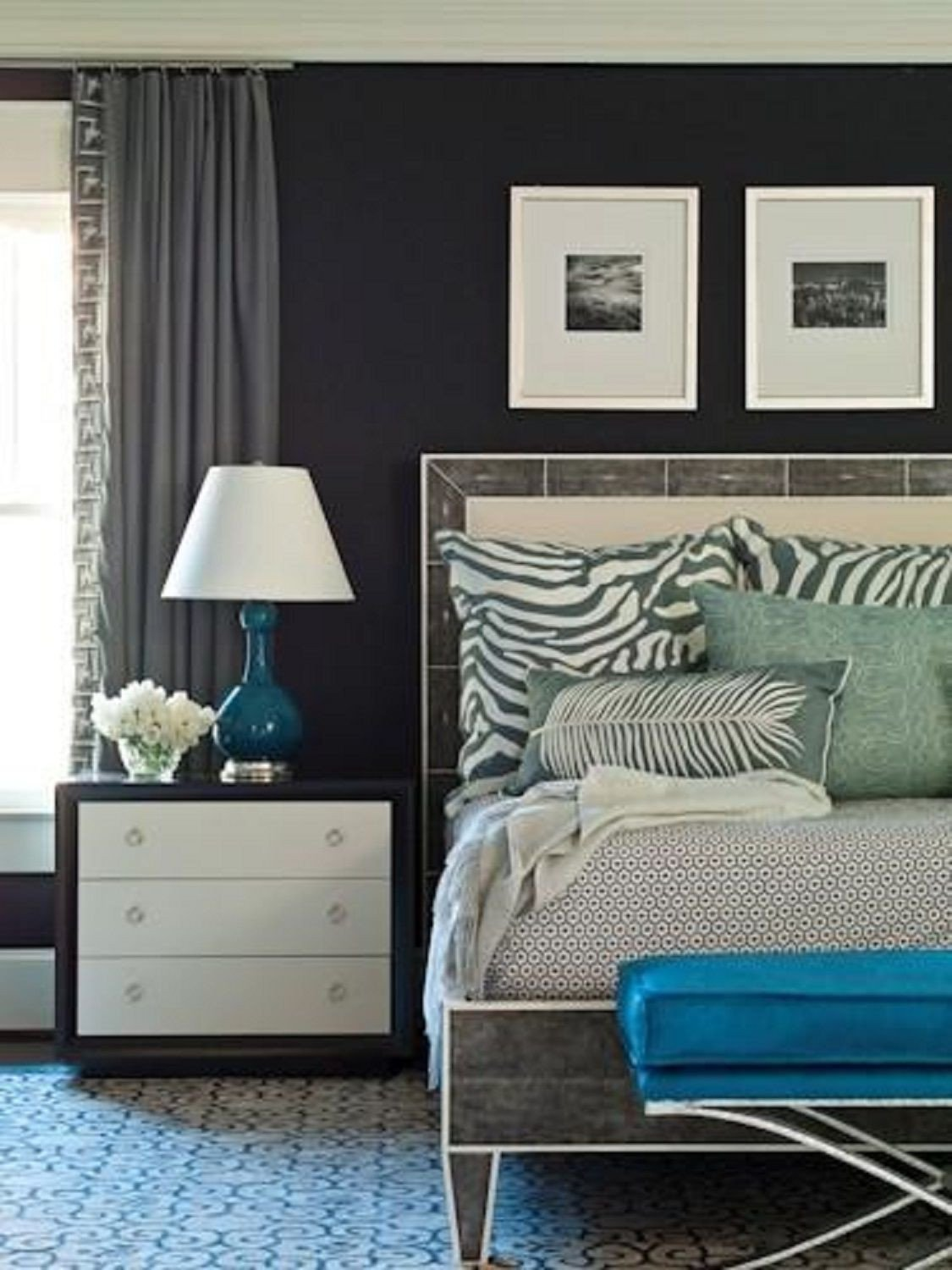 Grey and Turquoise Bedroom Ideas Awesome 25 Stunning Blue Bedroom Ideas
