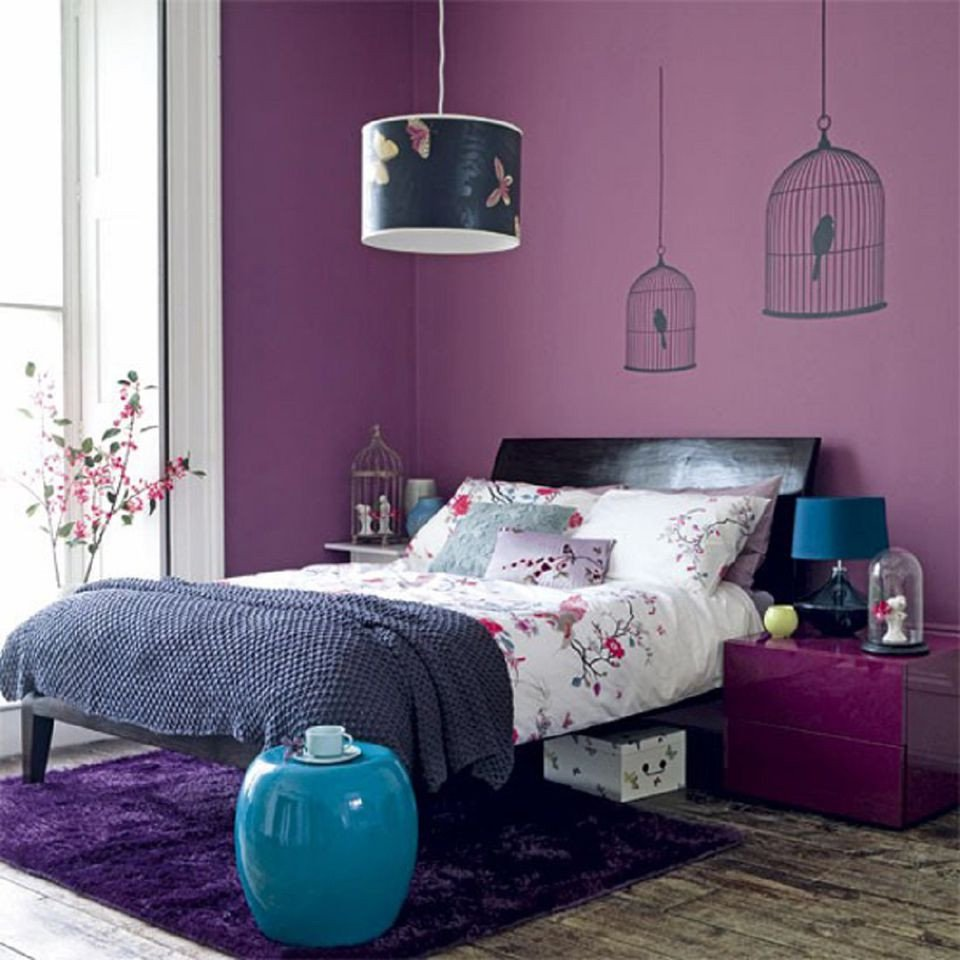 Grey and Turquoise Bedroom Ideas Awesome Decorating Your Bedroom with Green Blue and Purple