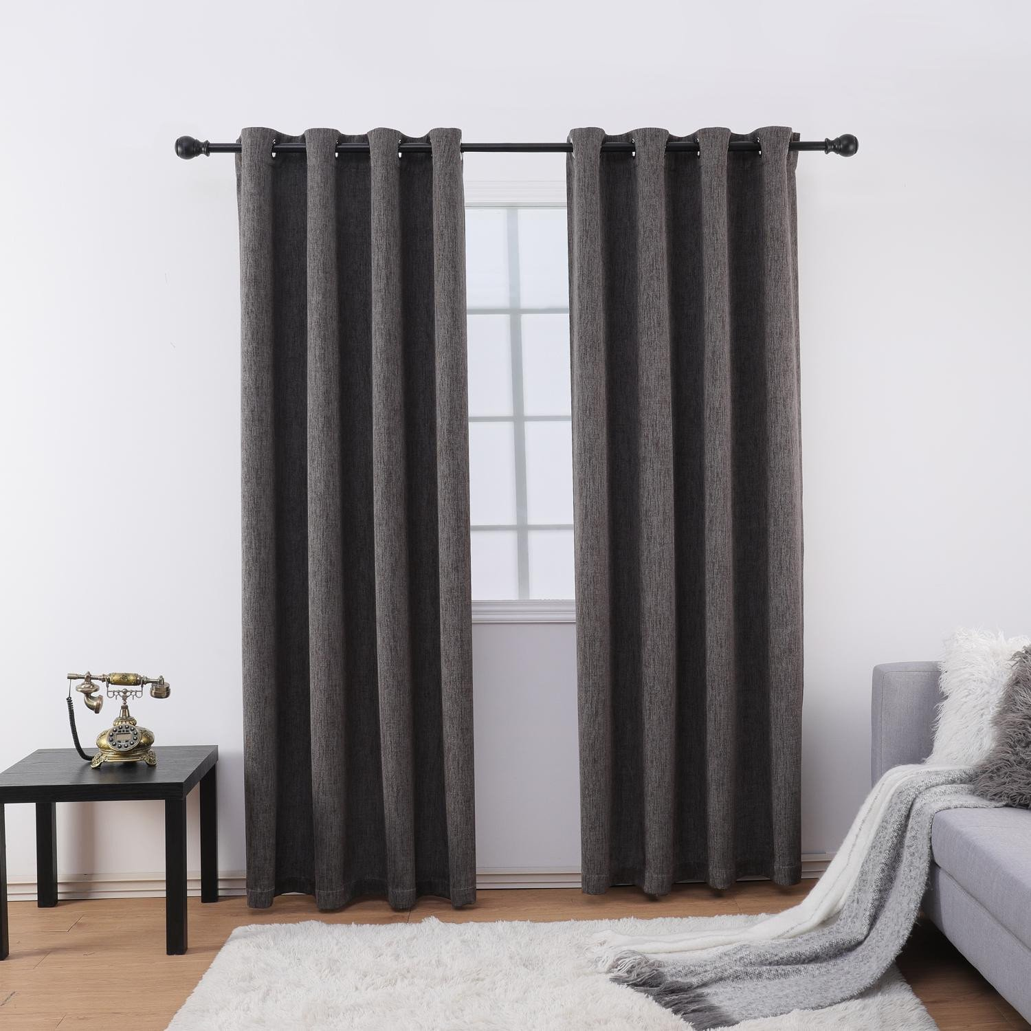 Grey Curtains for Bedroom Best Of 2019 Jarl Home Blackout Curtains for Living Room 2 Panels Curtain for Bedroom Grommets top Kitchen Window Curtains From Jarlhome $27 68