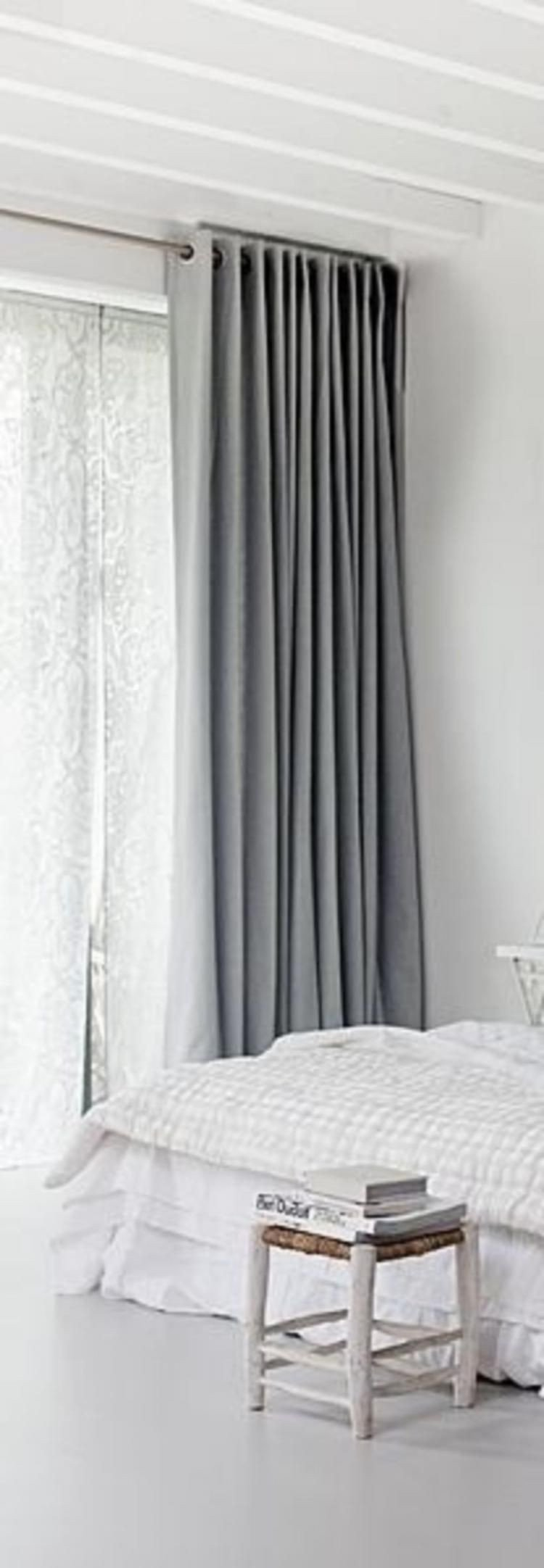 Grey Curtains for Bedroom Fresh Luxurious Bedroom with Grey Curtains Decor