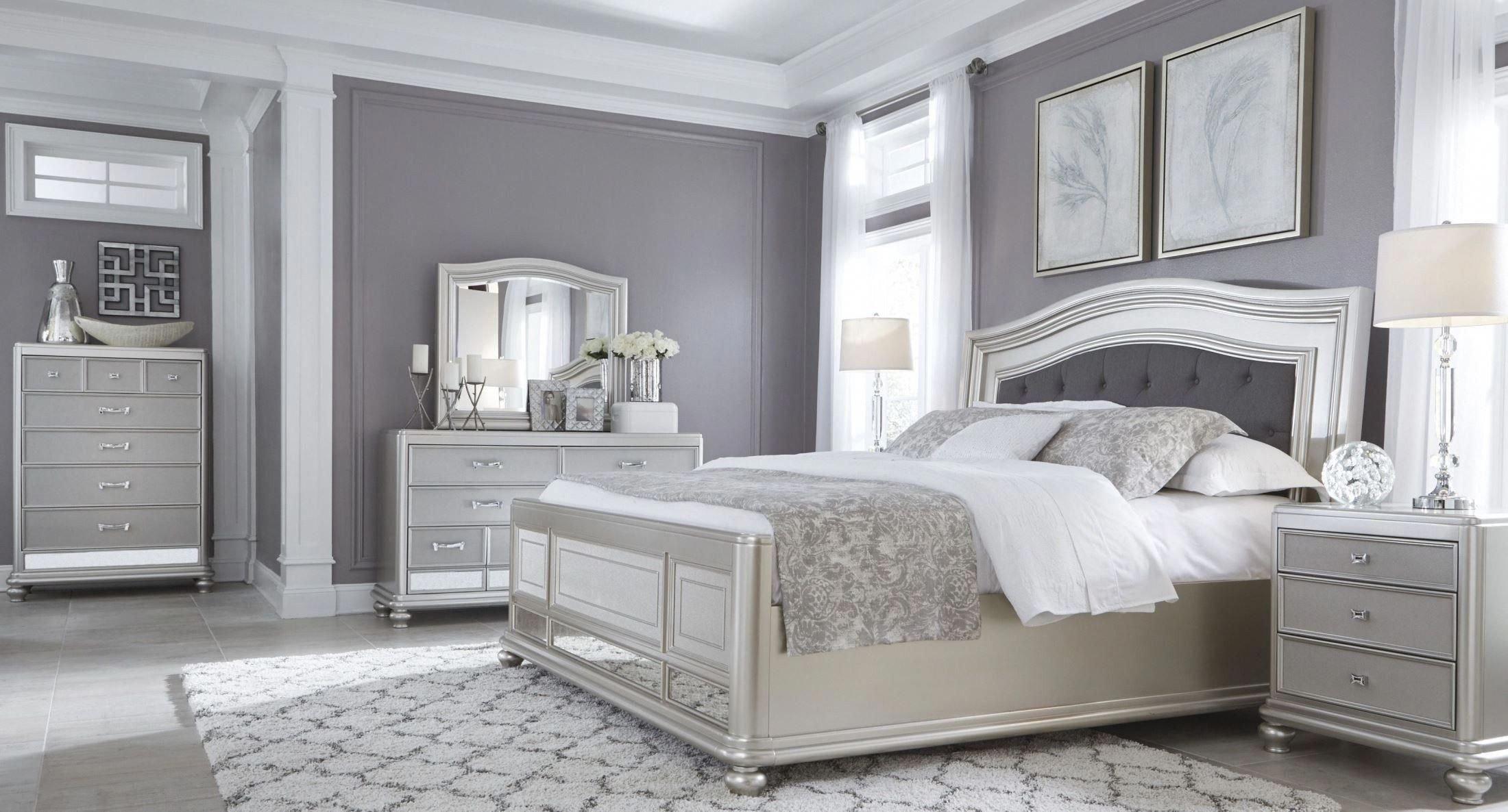 Grey Queen Bedroom Set Beautiful Coralayne Silver Bedroom Set … Bedroom Furniture