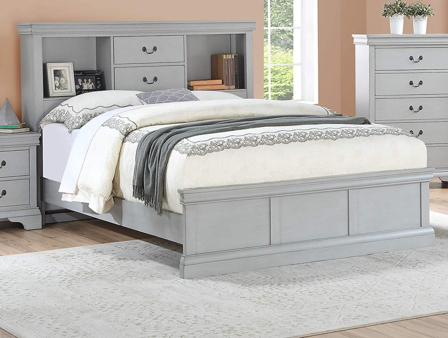 Grey Queen Bedroom Set Best Of Amazon Esofastore Classic Modern Bedroom Furniture