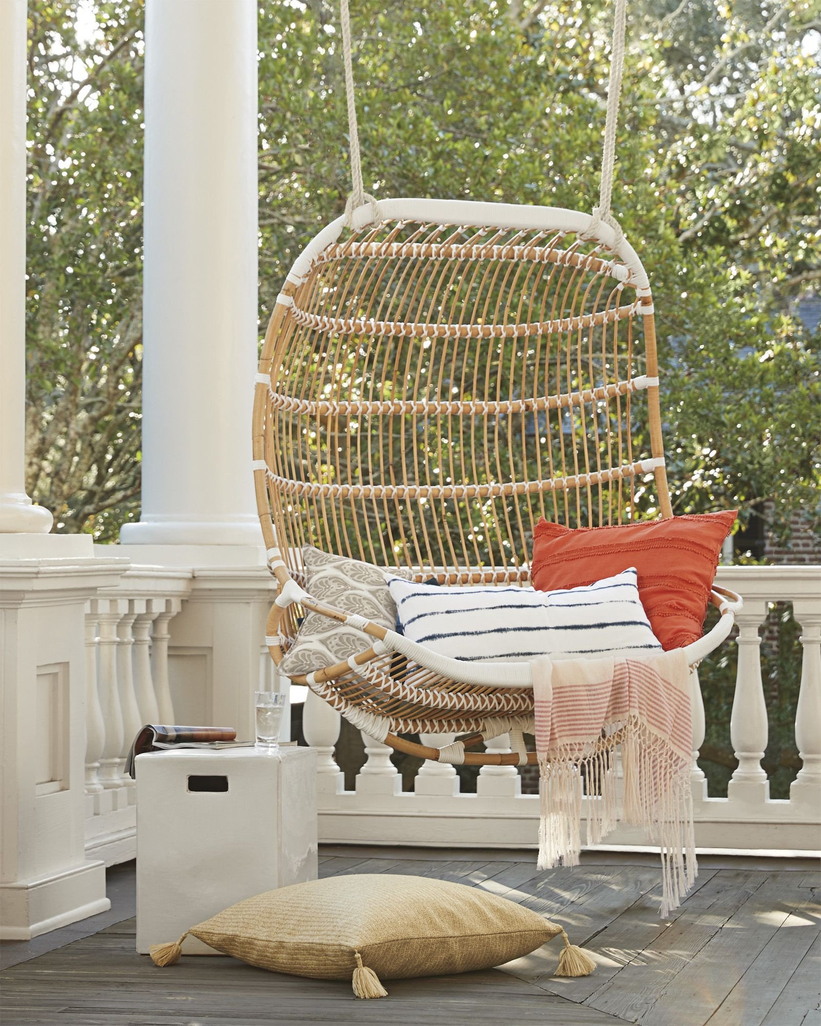 Hanging Chairs for Bedroom Fresh Serena & Lily Double Hanging Rattan Chair