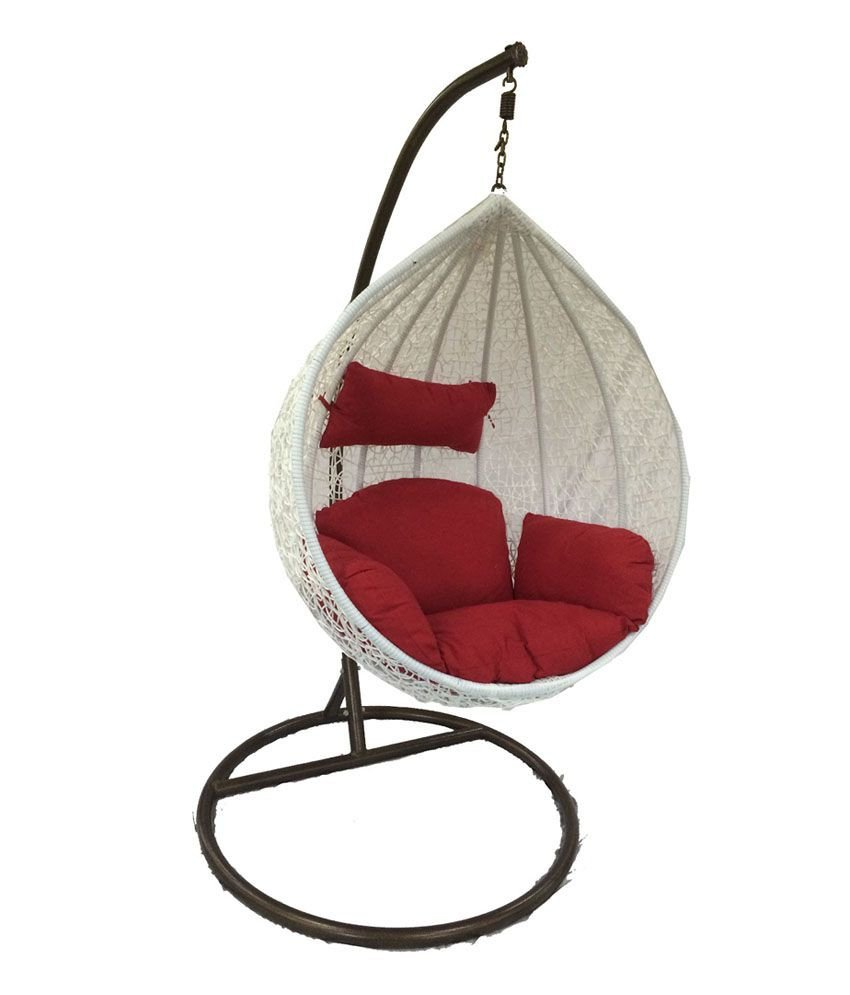 Hanging Chairs for Bedroom Lovely Woodys Modak White Hanging Chair