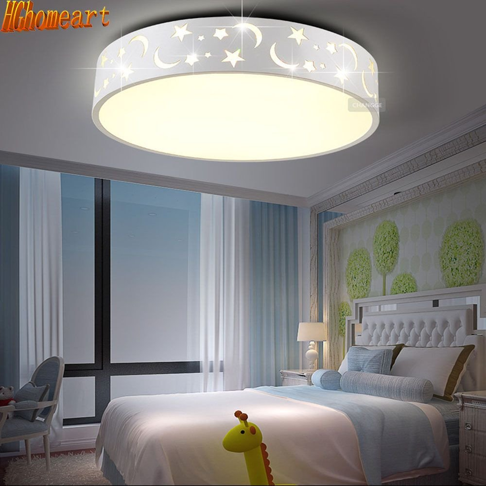 Hanging Lamp for Bedroom Elegant Led Energy Saving Cartoon Ceiling Lamp Main Bedroom Light