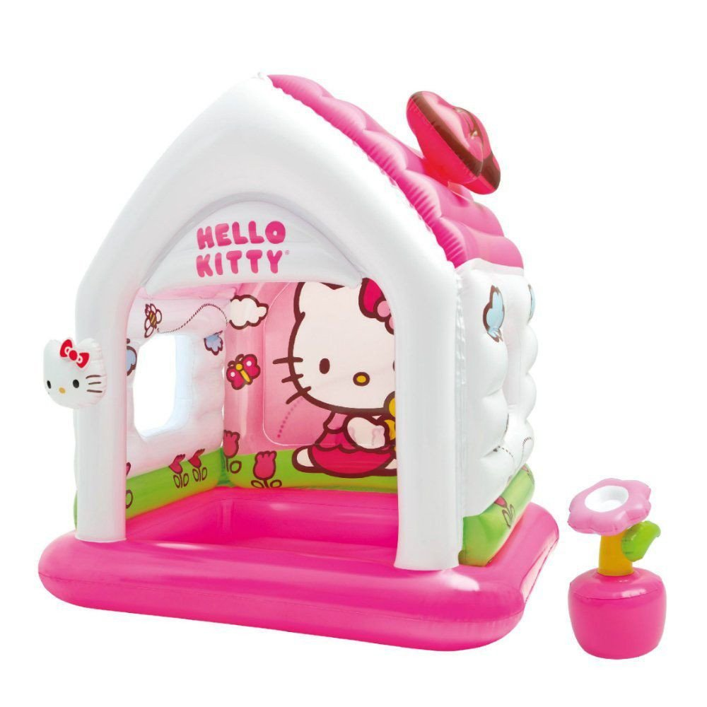 Hello Kitty Bedroom In A Box Beautiful Intex Hello Kitty Kids Inflatable Indoor Playroom Fun