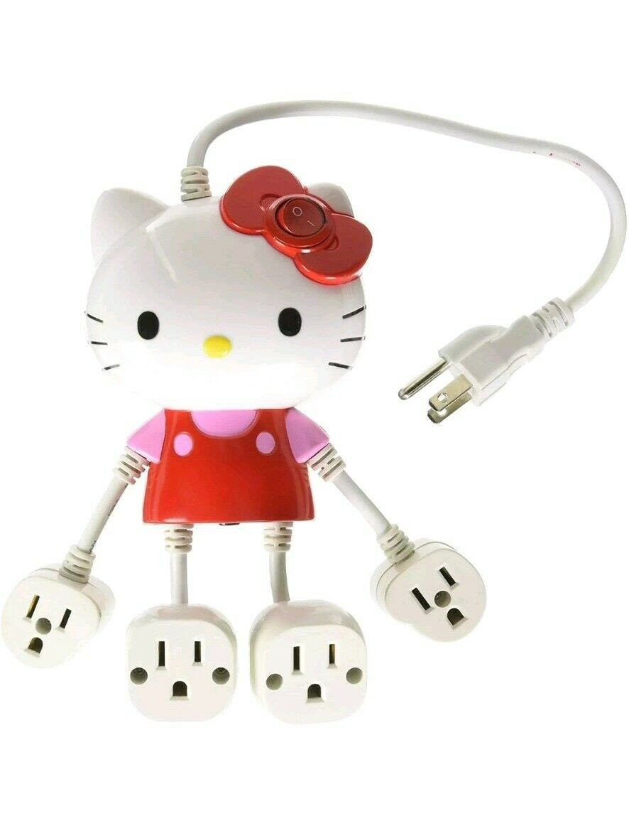Hello Kitty Bedroom In A Box Inspirational New Hello Kitty Molded 4 Outlet Power Strip 0d 2 Nice Christmas Gift