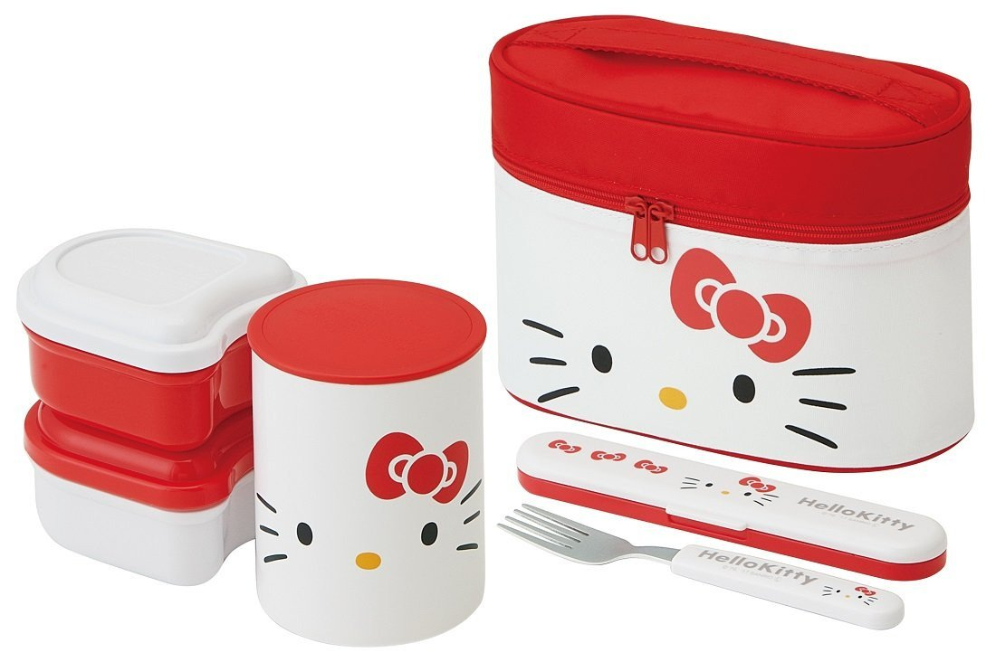 "Hello Kitty Bedroom In A Box Lovely Amazon Skater Heat Retention Lunch Box 560ml ""hello"