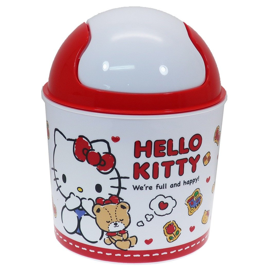 Hello Kitty Bedroom In A Box Lovely Mini Dust Box Sanrio Kay Pany 13 5 17 5cm In Diameter Interior Fancy Goods Mail order Cinema Collection with the Hello Kitty Desk Trash Box Cover