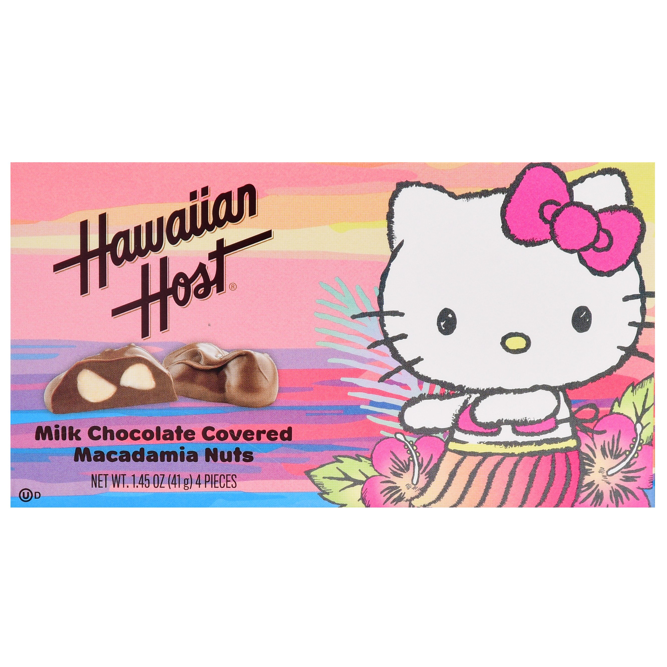 Hello Kitty Bedroom In A Box New Hawaiian Host Hello Kitty Milk Chocolate Covered Macadamia