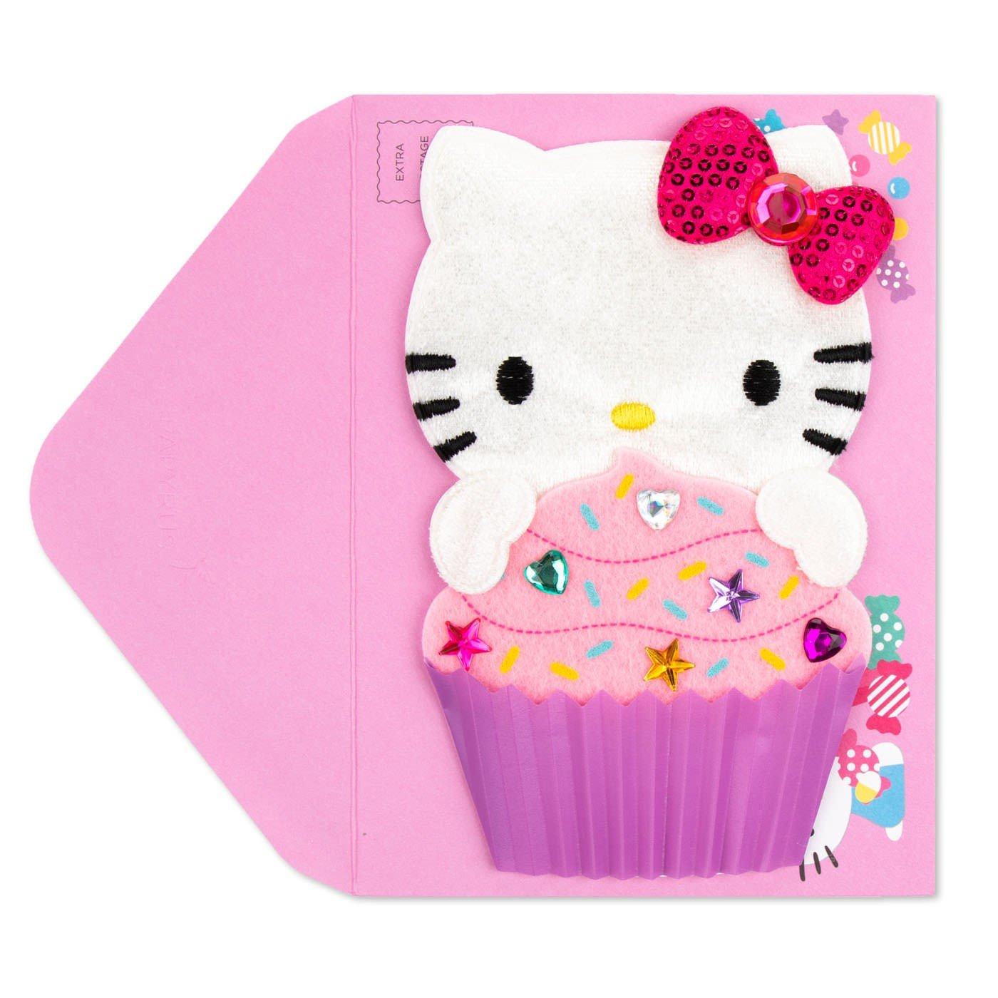 Hello Kitty Bedroom In A Box New Hello Kitty Cupcake Birthday Card