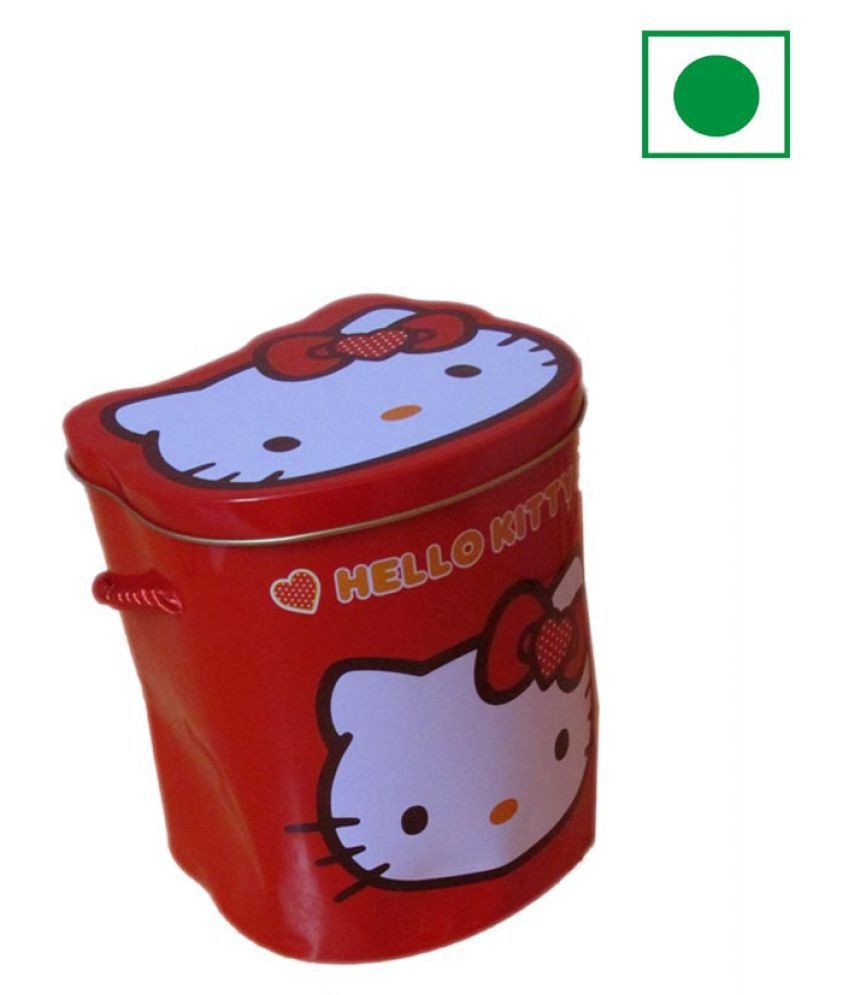Hello Kitty Bedroom In A Box New Moshiks Hello Kitty Small Red Tin Box assorted Chocolates 250 Gm