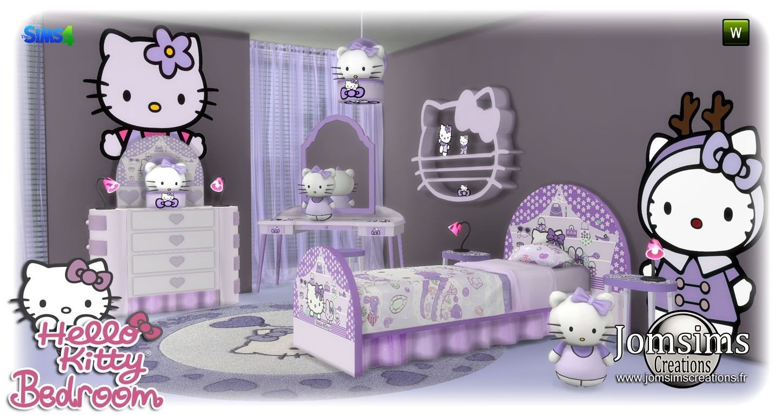 Hello Kitty Bedroom Set New Alimo Kids Room